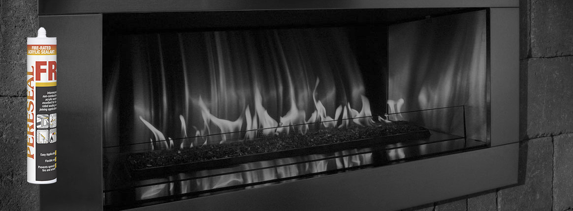 Pereseal FR fire rated acrylic sealant firestop