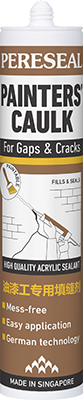 Pereseal PC painter's caulk for gaps and cracks sealant
