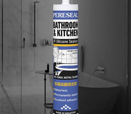 Pereseal AF Bathroom anti fungal Silicone Sealant