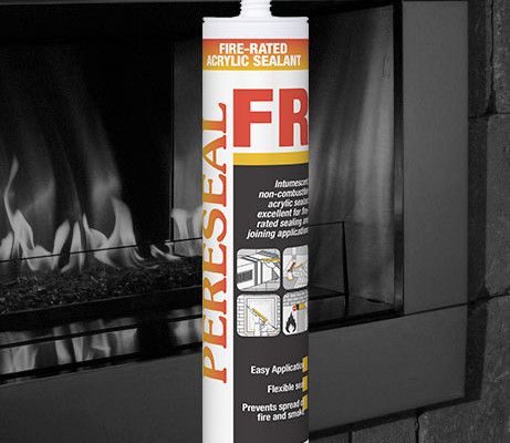 Pereseal FR fire rated sealant acrylic